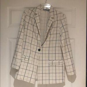 ASOS checkered blazer